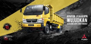 Promo Kredit Bunga Murah Colt Diesel Super HDX Dumptruck