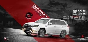 Promo Kredit Cicilan Ringan Dp Murah Mitsubishi Outlander Phev Dari Leasing Dipo Star Finance
