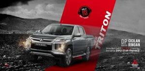 Promo Kredit Dp Murah Cicilan Ringan Mitsubishi Triton Dari Leasing Dipo Star Finance